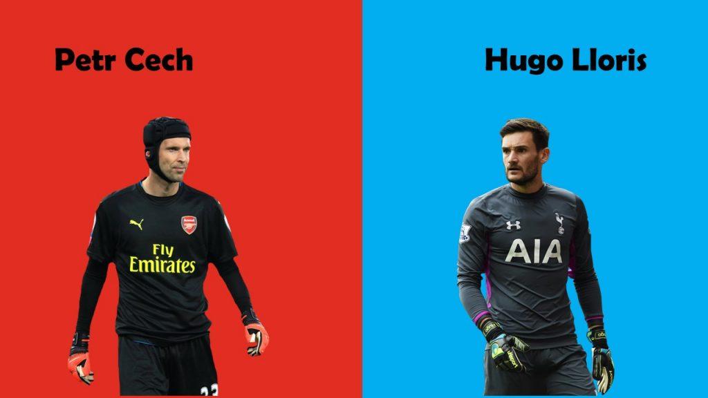 Petr-cech-Hugo-lloris-north-london-derby-2017
