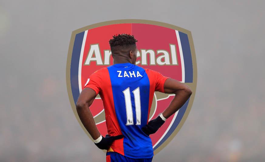 Wilfried-Zaha-Arsenal