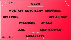 Mkhitaryan-Arsenal-Line-up