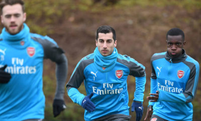 henrikh-Mkhitaryan-Arsenal-training