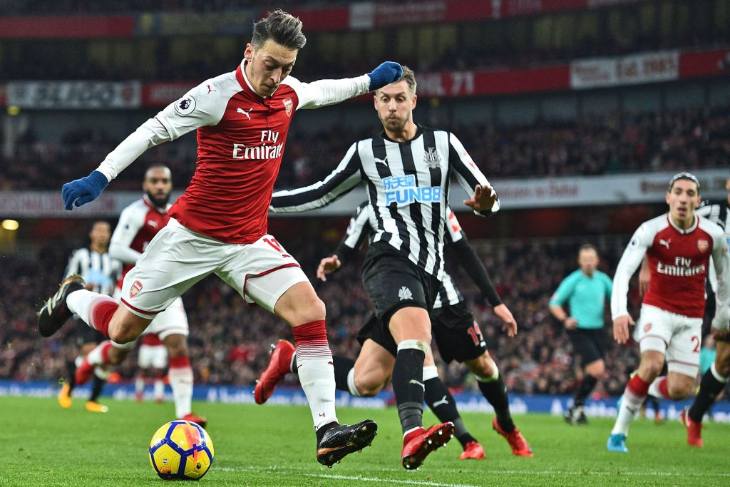 Ozil-vs-newcastle-united