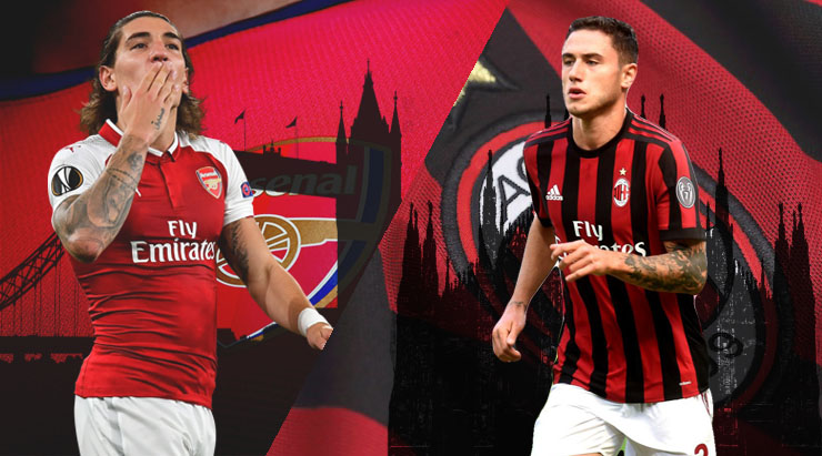 Image result for AC Milan vs Arsenal Live