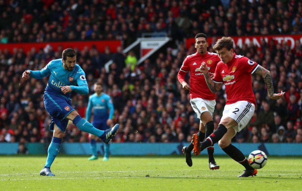 Henrikh-Mkhitaryan-against-Manchester-United