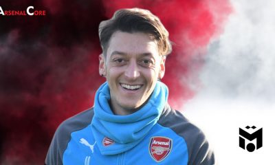 Mesut Ozil-Arsenal-Wallpaper