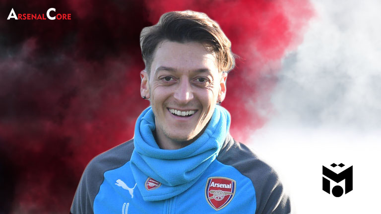 Mesut Ozil-Arsenal-Wallpaper