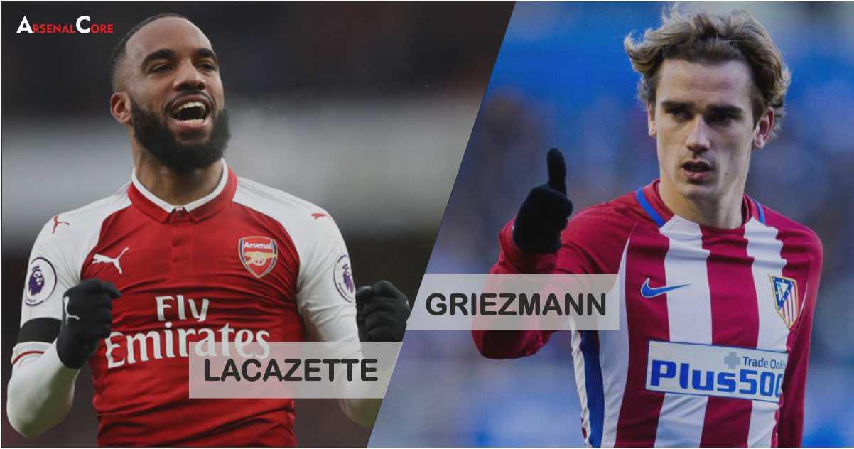 lacazette-griezmann-Arsenal-Atletico-Madrid