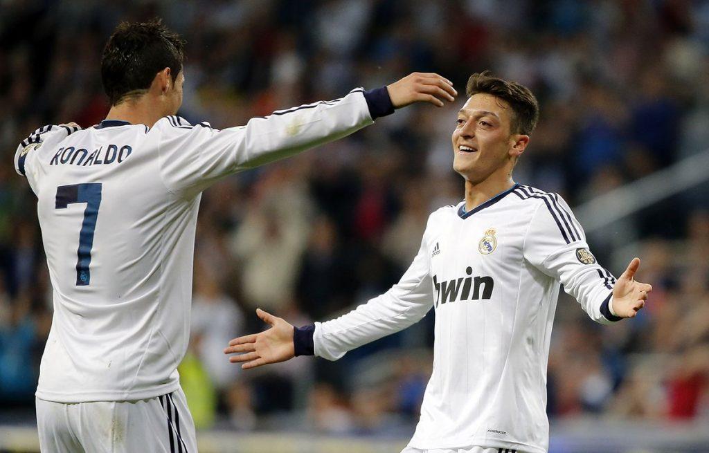özil Ronaldo