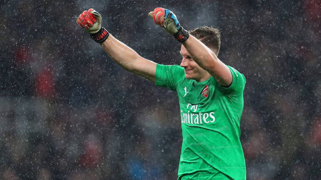 Bernd Leno Named Arsenal's Player Of The Month For March 2019