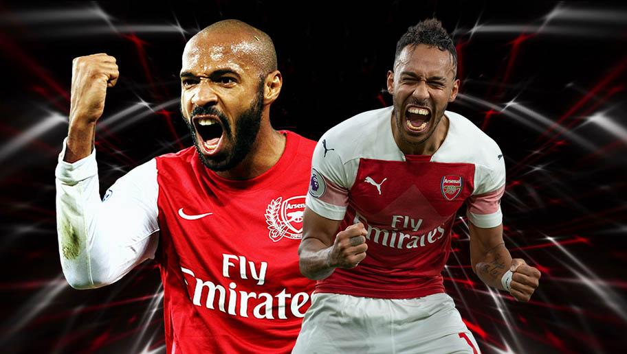 55a36ff5e Pierre-Emerick Aubameyang   Arsenal s morden era Thierry Henry ...